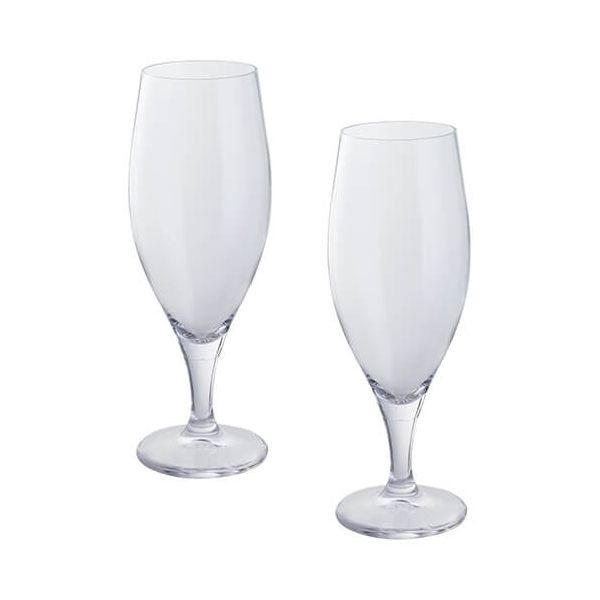 Dartington Wine & Bar Set Of 2 Beer Glasses