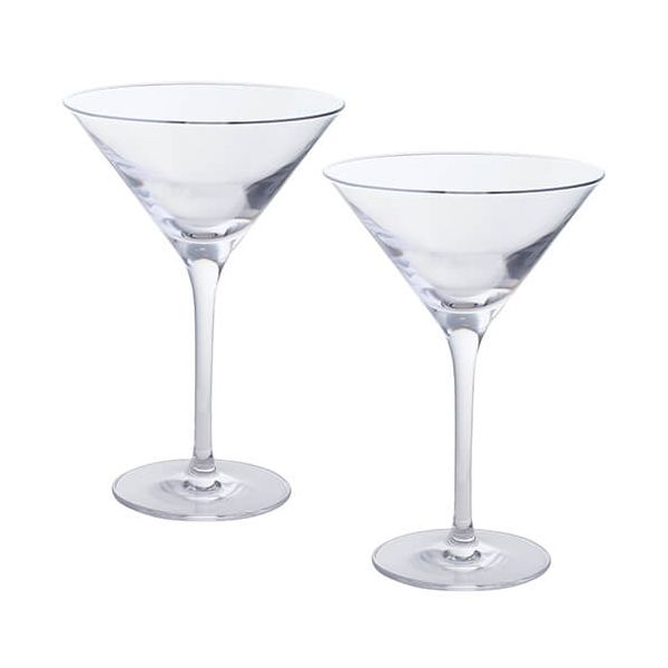 Dartington Wine & Bar Set Of 2 Martini Glasses