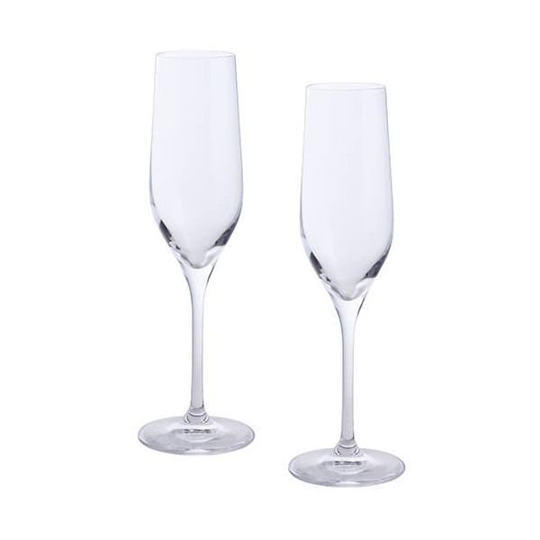 Dartington Wine & Bar Set Of 2 Flutes