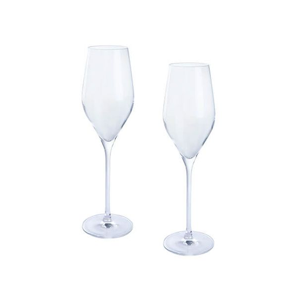 Dartington Wine & Bar Set Of 2 Prosecco Glasses