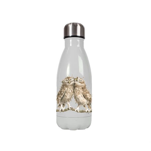 Wrendale Designs Small Owl Anniversary 260ml Water Bottle