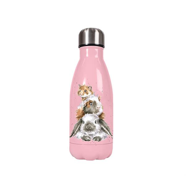 Wrendale Designs Small Piggy In The Middle Guinea Pig 260ml Water Bottle