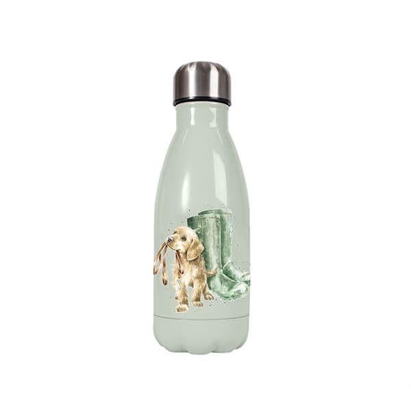 Wrendale Designs Small Hopeful Dog 260ml Water Bottle