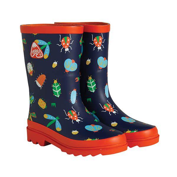 Frugi Organic Bugs Explorer Wellington Boots