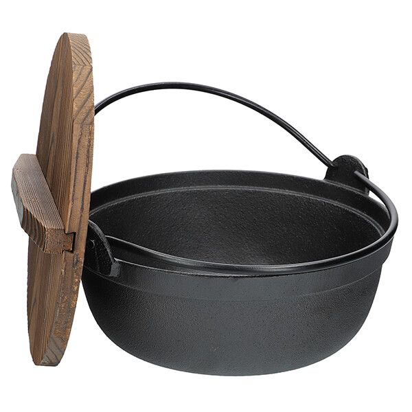World Of Flavours Cast Iron Japanese Cooking Pot 21cm