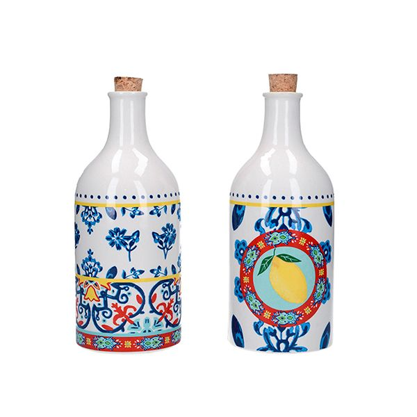 World of Flavours Ceramic Oil and Vinegar Set