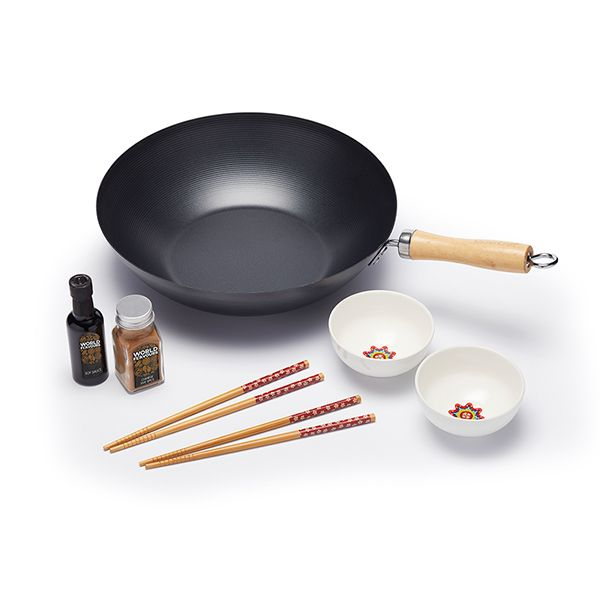 World of Flavours Stir Fry Gift Set