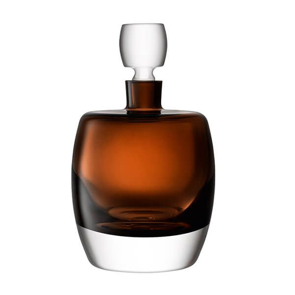 LSA Whisky Club Decanter 1.05L Peat Brown