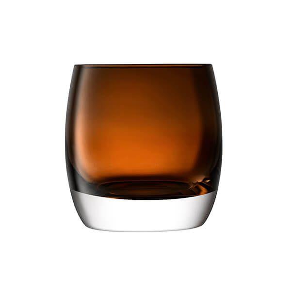 LSA Whisky Club Ice Bucket H15cm Peat Brown