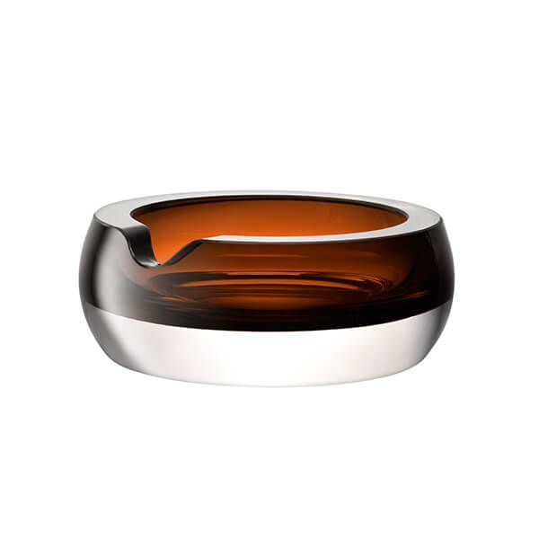 LSA Whisky Club Cigar Ashtray 17cm Peat Brown