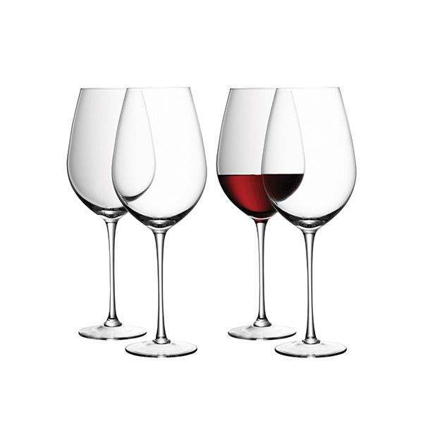 LSA Wine Red Wine Goblet 850ml Set Of Four