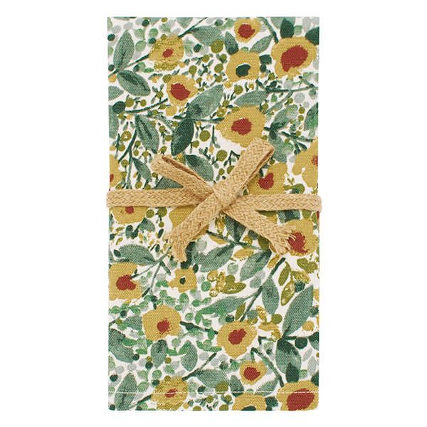 Walton & Co Wildflower Napkin Set of 4