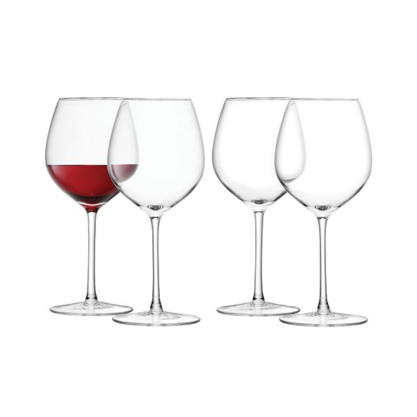 LSA Wine Red Wine Glass 400ml Set Of Four