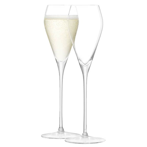 LSA Wine Prosecco Glass 250ml Clear Set Of Two