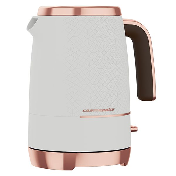 Beko White & Rose Gold Cosmopolis 1.7L Kettle