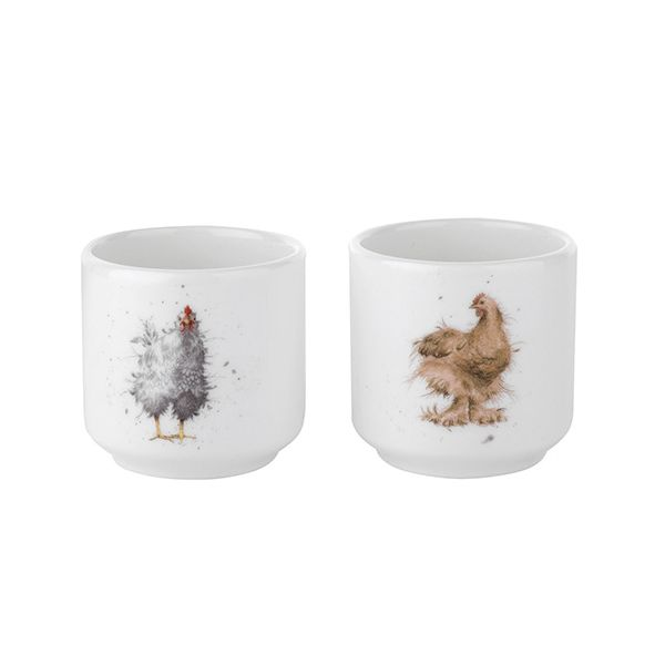 Wrendale Designs Set Of 2 Egg Cups