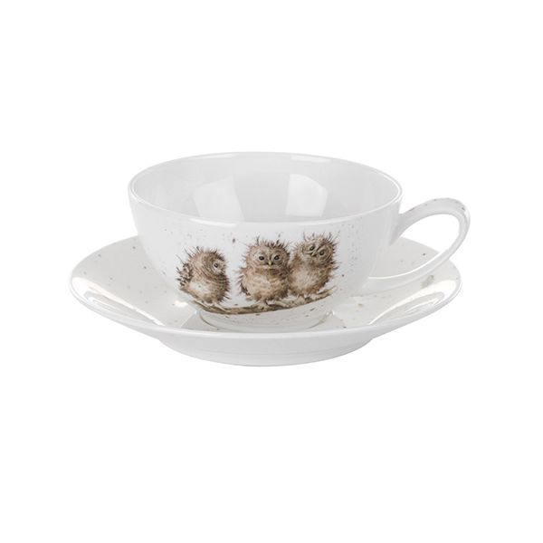 Wrendale Designs Cappuccino Cup & Saucer