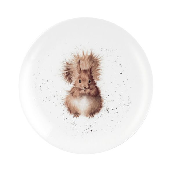 Wrendale Designs 8 Inch Coupe Plate Squirrel