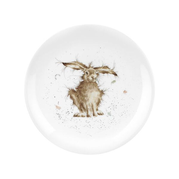 Wrendale Designs Coupe Plate Hare Brained