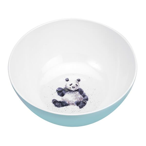 Wrendale Designs Melamine Panda Salad Bowl
