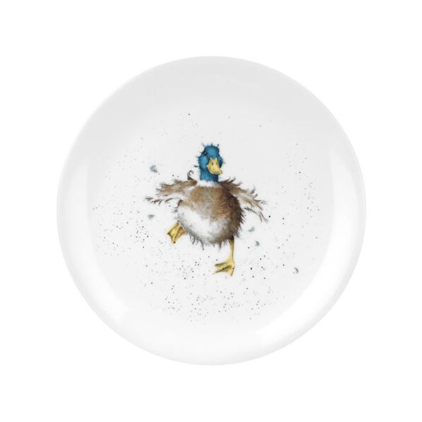 Wrendale Designs Coupe Plate Waddle and a Quack Duck