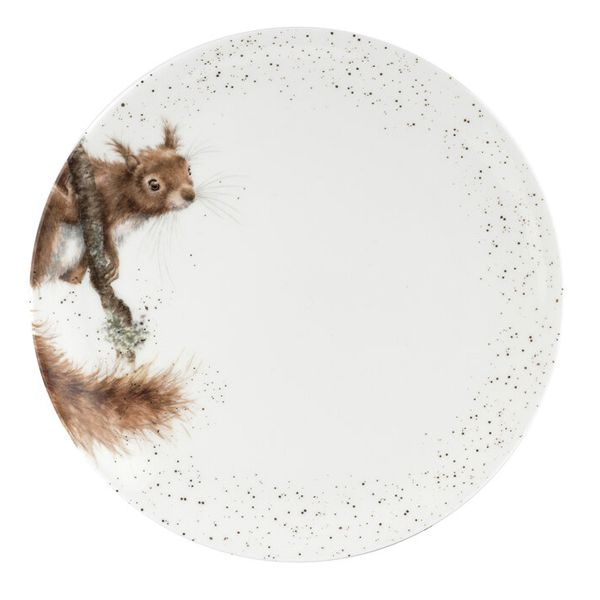 Wrendale Designs 10.5 Inch Coupe Plate Squirrel