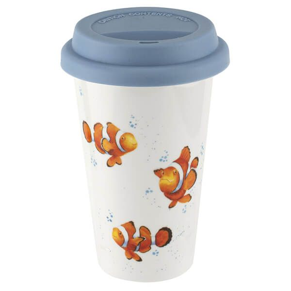 Wrendale Designs Travel Mug Clown Fish
