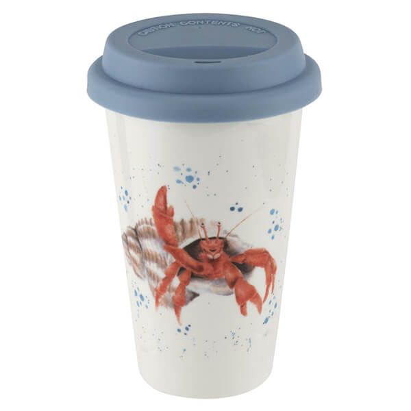 Wrendale Designs Travel Mug Hermit Crab