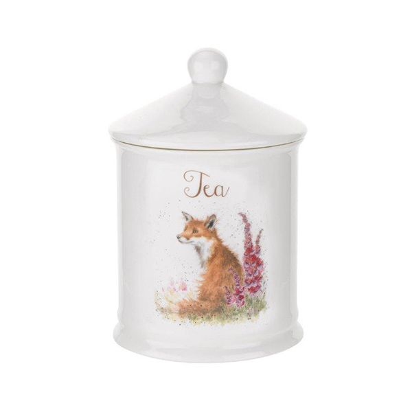 Wrendale Designs Tea Canister Fox