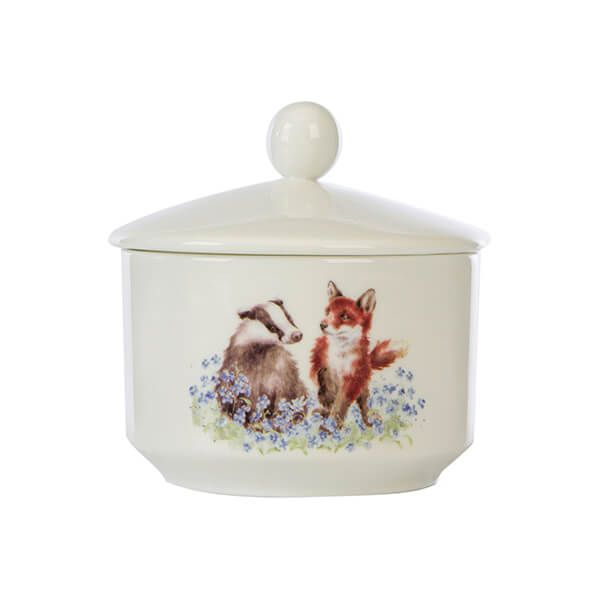 Wrendale by Wax Lyrical Meadow Ceramic Trinket Candle