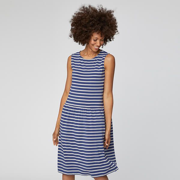 Thought Ocean Blue Aisley Dress