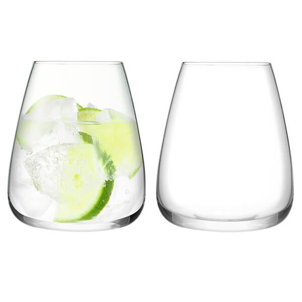 LSA Wine Culture Water Glass 590ml Clear Set Of Two