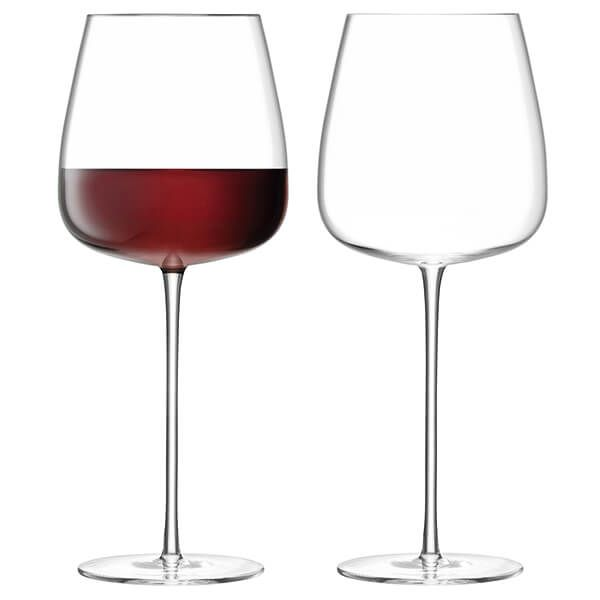 LSA Wine Culture Red Wine Goblet 715ml Clear Set Of Two