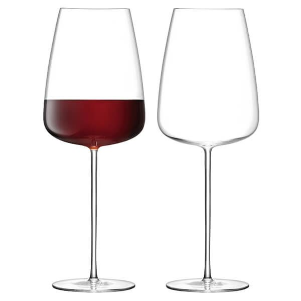 LSA Wine Culture Red Wine Grand Glass 800ml Clear Set Of Two