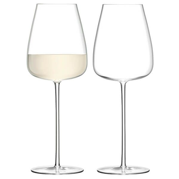 LSA Wine Culture White Wine Goblet 690ml Clear Set Of Two