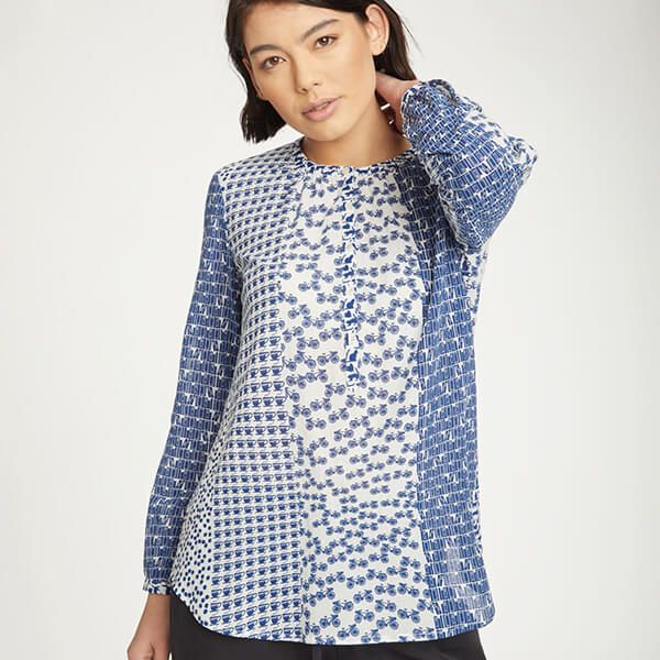 Thought Sapphire Blue Ellinor Blouse