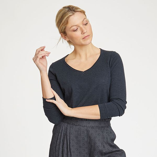 Thought Midnight Navy Hildur Jumper