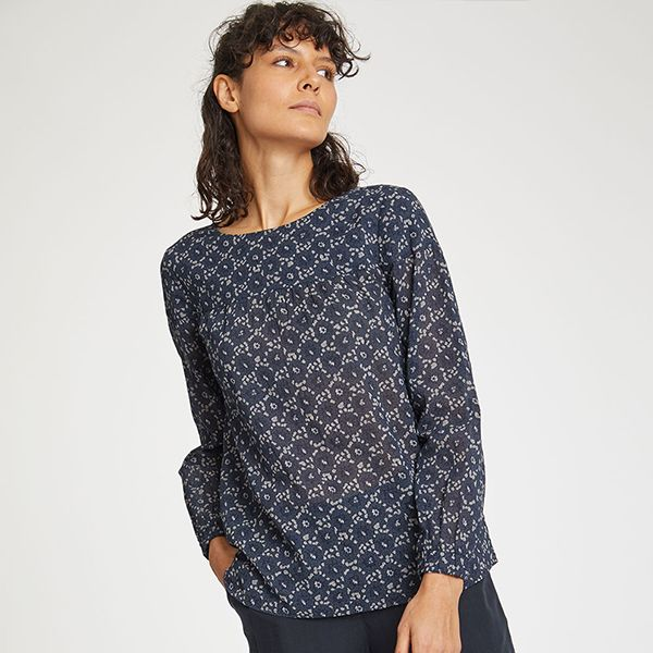 Thought Midnight Navy Ebonney Top