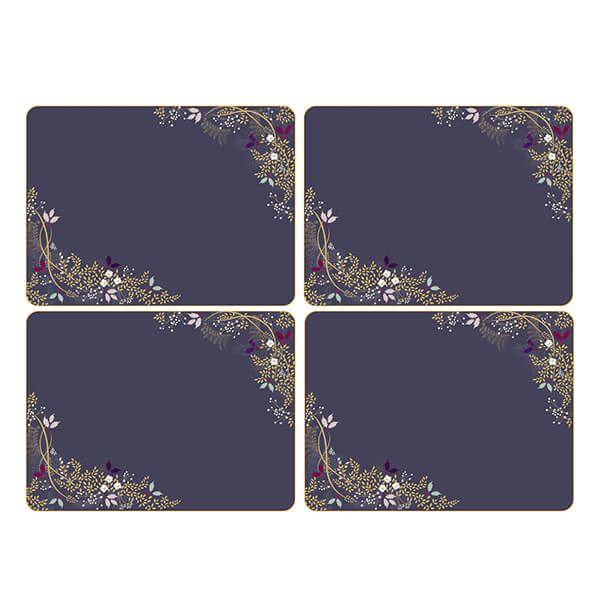 Sara Miller Garland Set of 4 23cm x 30.5cm Placemats