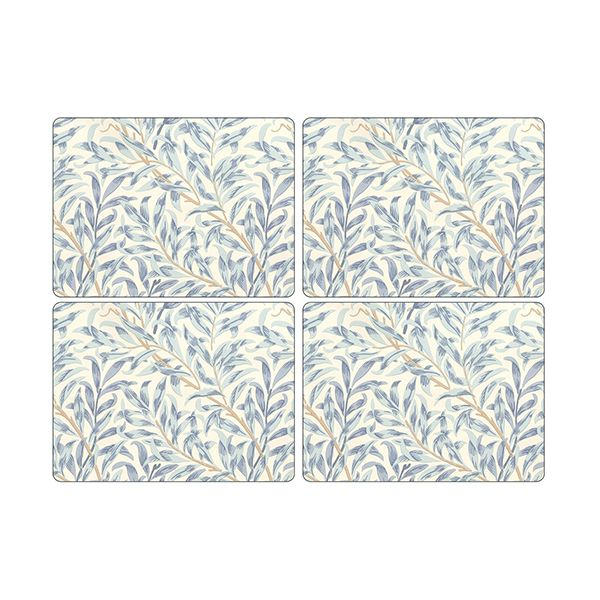 Morris & Co Willow Bough Blue Placemats Set of 4
