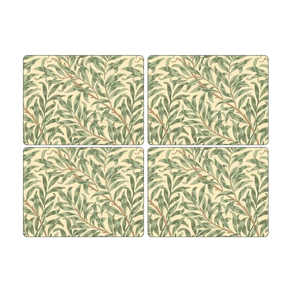 Morris & Co Willow Bough Green Placemats Set of 4