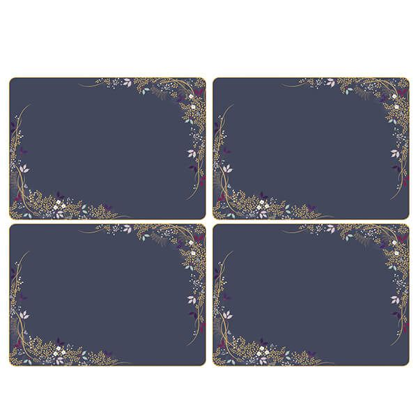 Sara Miller Garland Set of 4 40.1cm x 29.8cm Placemats