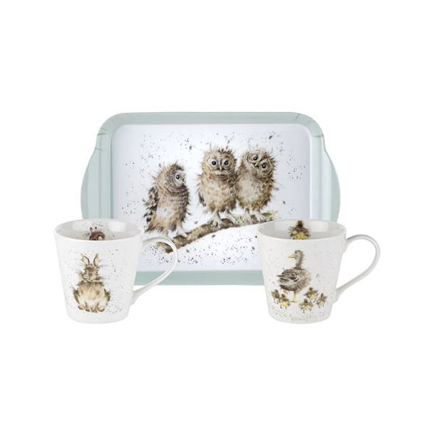 Wrendale Designs Mug & Tray Set 6 for 5