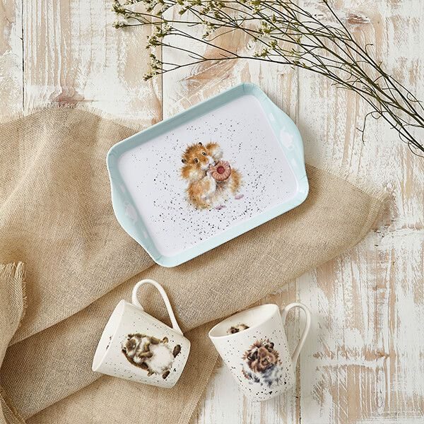 Wrendale Designs Mug & Tray Set Diet Starts Tomorrow
