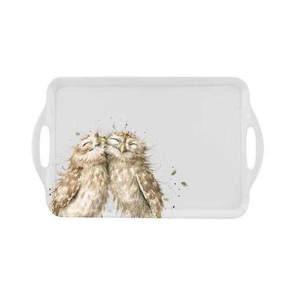 Wrendale Designs Owl Large Handled Tray