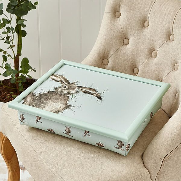 Wrendale Designs Hare Coloured Lap Tray