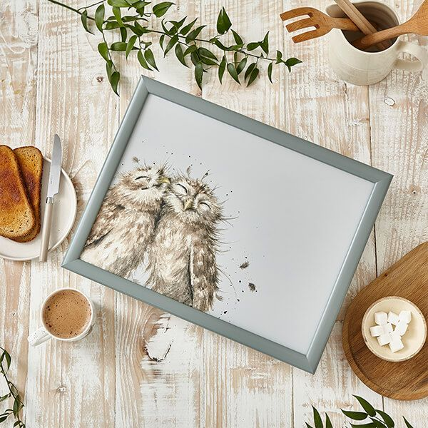 Wrendale Designs Owl Coloured Lap Tray