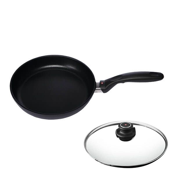 Swiss Diamond XD Induction 24cm Fry Pan With FREE Lid