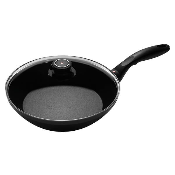 Swiss Diamond XD Induction 26cm Stir Fry Pan With Lid