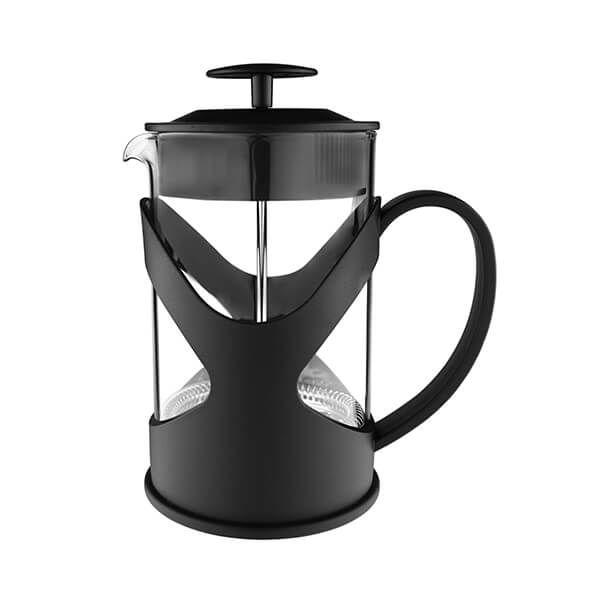 Grunwerg Black 350ml 3-Cup Cafetiere
